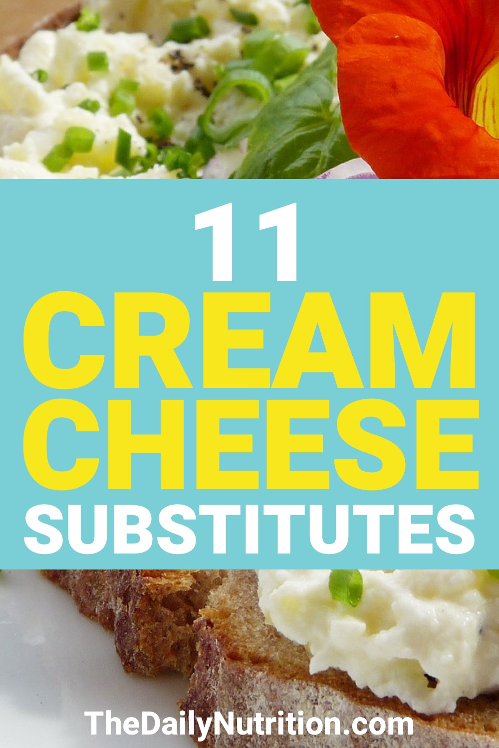 Cream cheese is great. However, some people can't always have it. Here are 11 cream cheese substitutes.