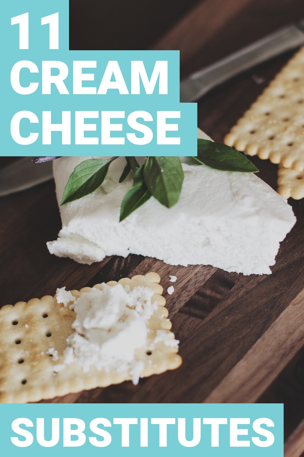 Finding a good food substitute isn't always easy. Cream cheese is one of those tricky foods to find a replacement for. Here are 11 cream cheese substitutes.