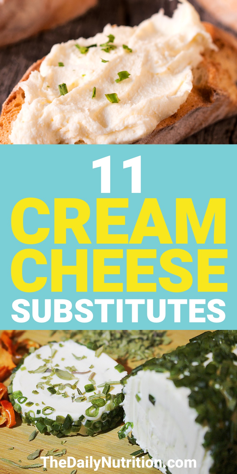 Cream cheese is good but not everyone can enjoy it. Here are 11 cream cheese substitutes that everyone can use to enjoy something similar to cream cheese.