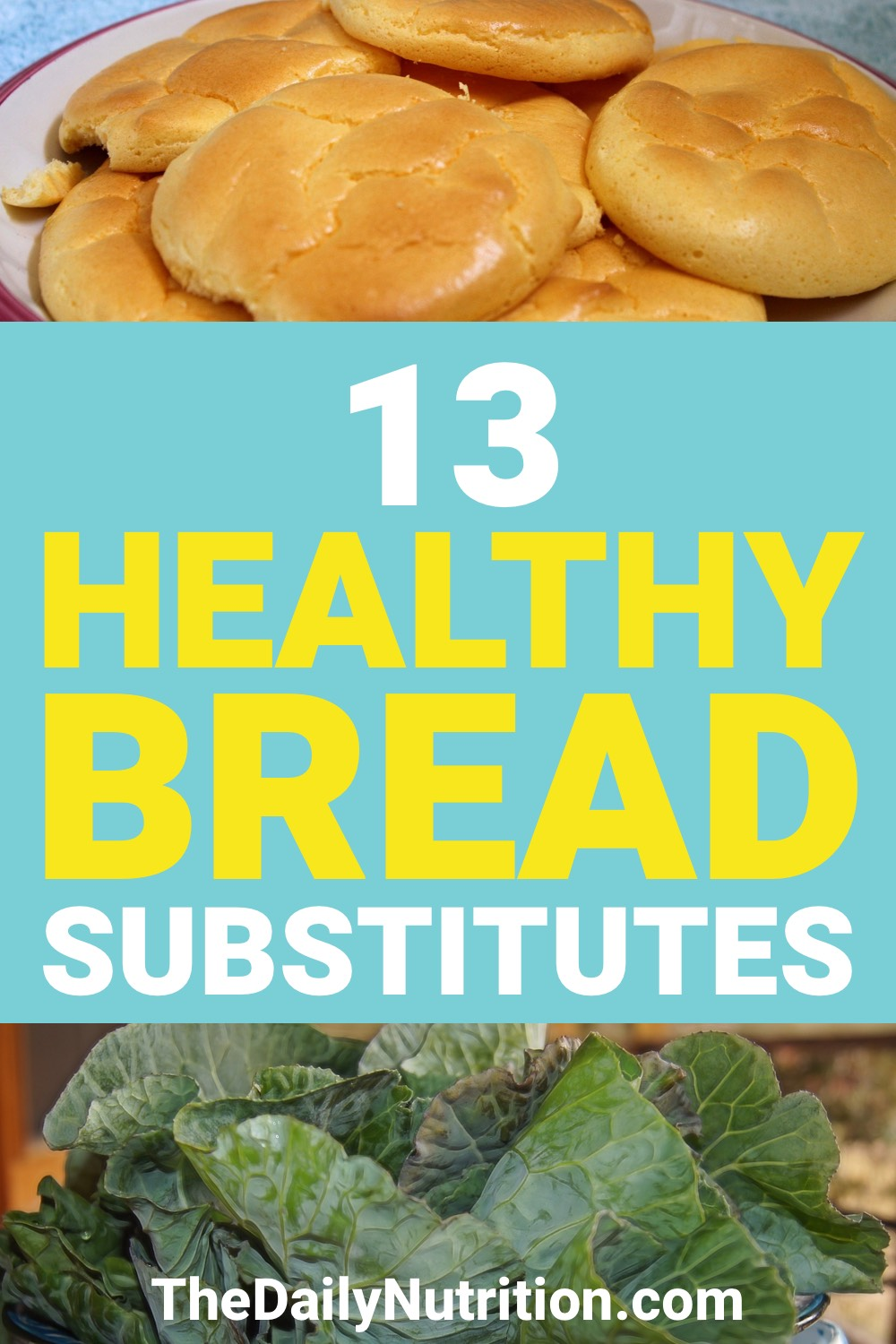 Here are 13 bread substitutes that you're going to love. Healthier versions of the bread you have everyday.