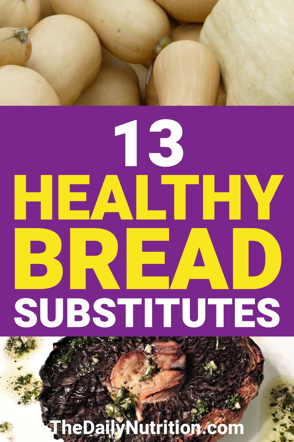 Finding a good bread substitute isn't difficult. Here are 13 bread alternatives that everyone will love.