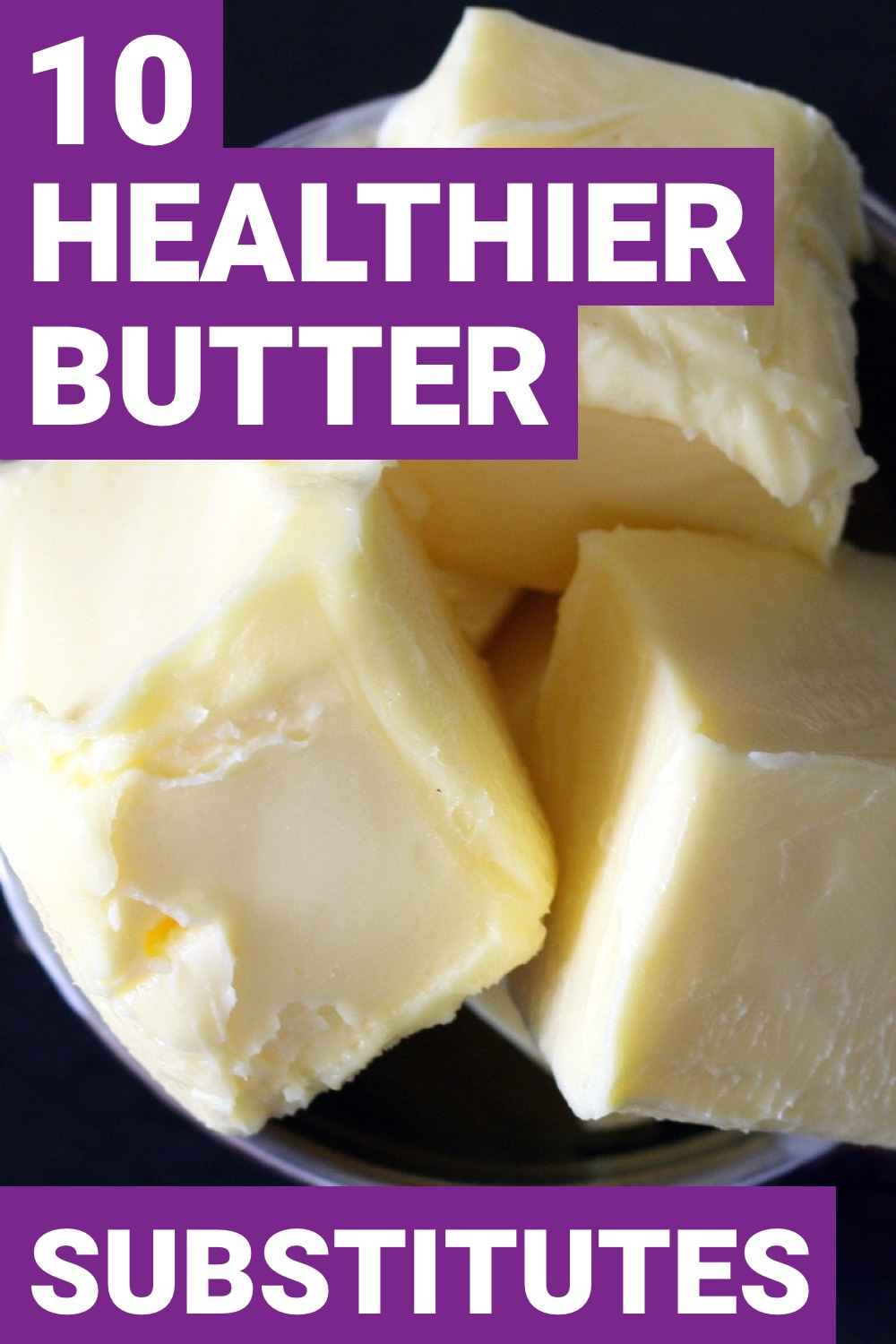 When you want to improve on your health, butter isn't always the best option. Here are 13 foods you can substitute for butter.<br />