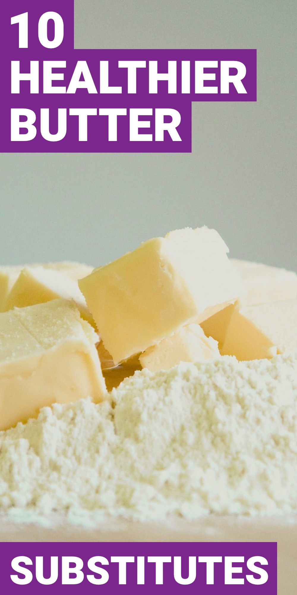 Having a substitute for butter is sometimes necessary. Here are 13 foods you can use as a butter substitute.