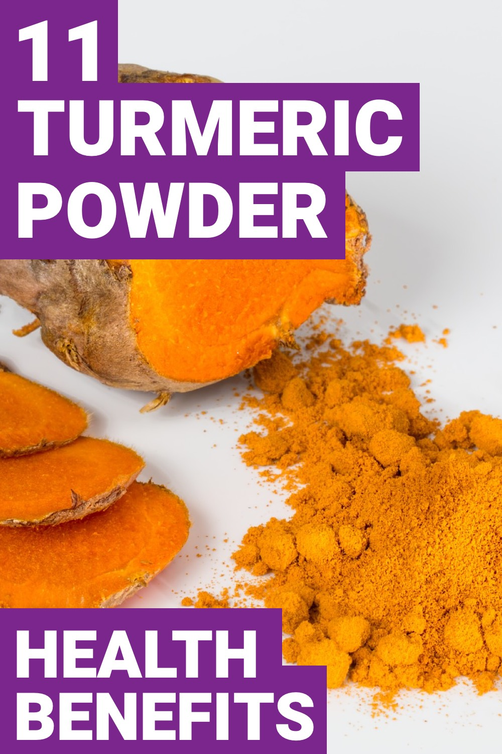 If you want a spice that's going to improve your health, use turmeric. Here are 11 turmeric benefits that you need.