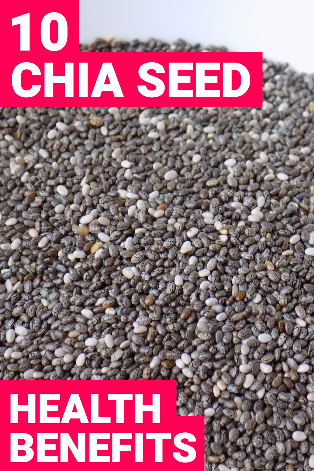 Chia seeds are more than just tiny seeds. Chia seed nutrition can greatly help you. Here are 10 health benefits that you need to know about.