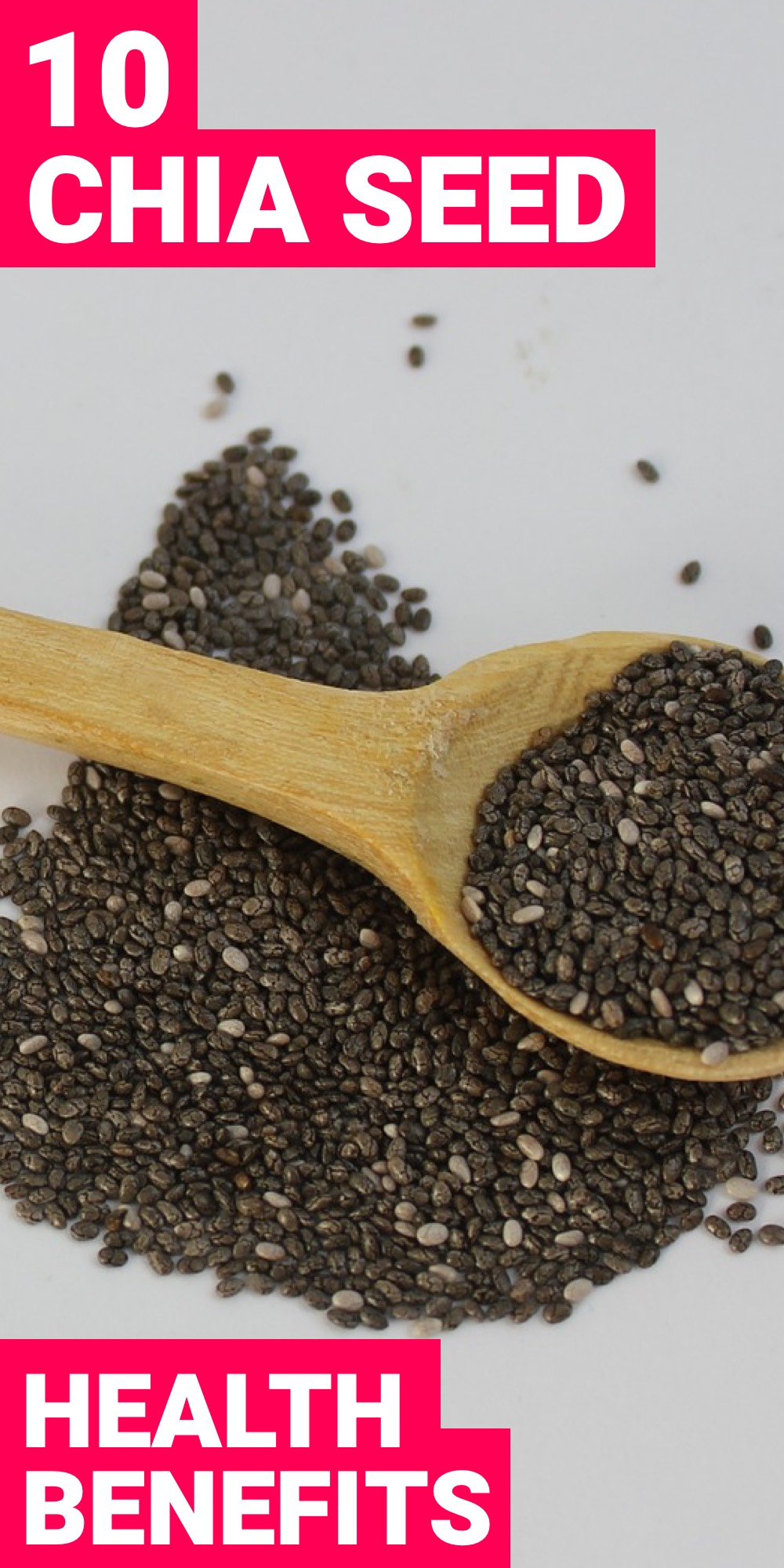 Using the health benefits of chia seeds to your advantage is something that your body will end up thanking you for. Here are 10 of those benefits.
