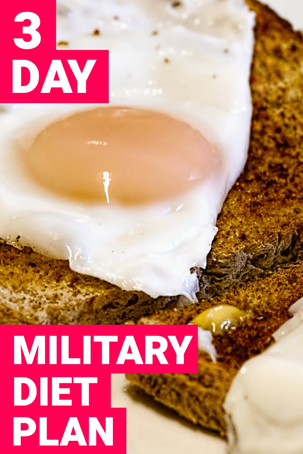 If you want to lose weight fast, try the military diet. It won't be easy but it's something that can get you to the weight you want in a hurry.