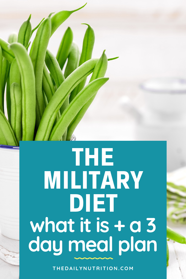 The military diet is designed to help you lose weight fast. Here is what the military diet is and how it can help you.