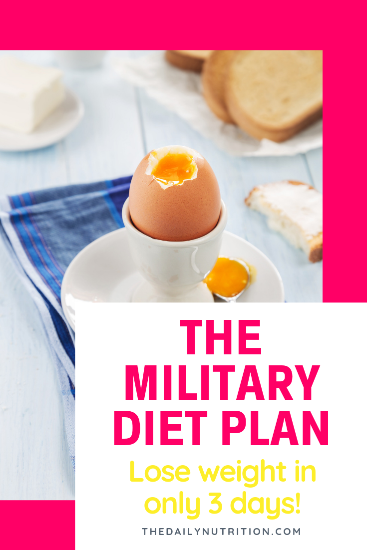 The military diet will help you lose weight fast. How much weight? You could lose double digit pounds in just a week. Find out how here.