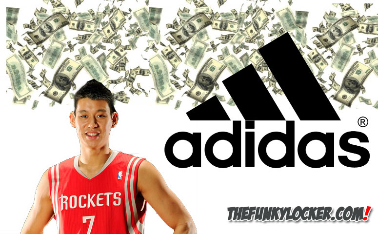2018 sneaker 78df5 351ce Jeremy Lin Signs With Adidas . ee62bd6bd