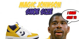 What Size Shoe Does Magic Johnson Wear