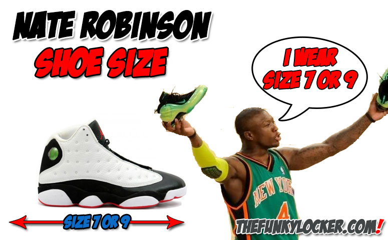 What Size Shoe Does Nate Robinson Wear