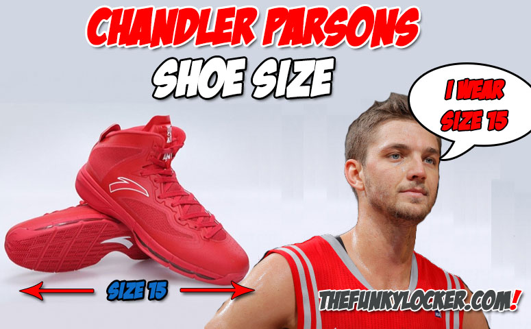 watch b005c 3a4f6 Chandler Parsons Shoe Size ...