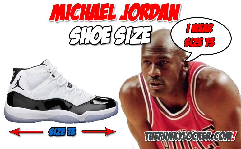 What Size Shoe Does Michael Jordan Wear