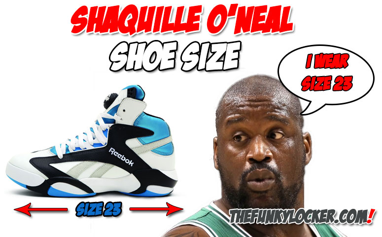 What Size Shoe Does Shaq