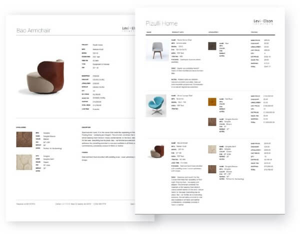 Image of beautiful design documents.