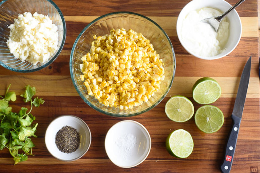 04 Grilled Corn Salad