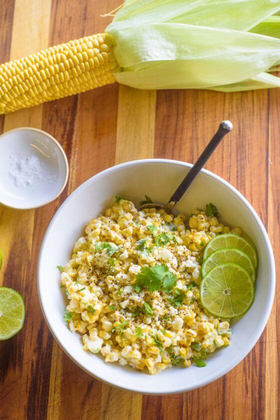 08 Grilled Corn Salad