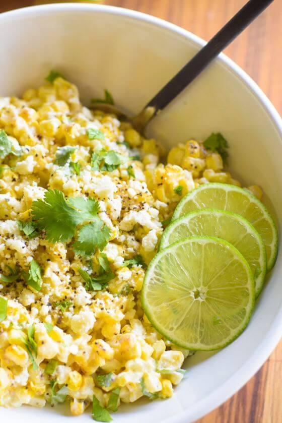 09 Grilled Corn Salad