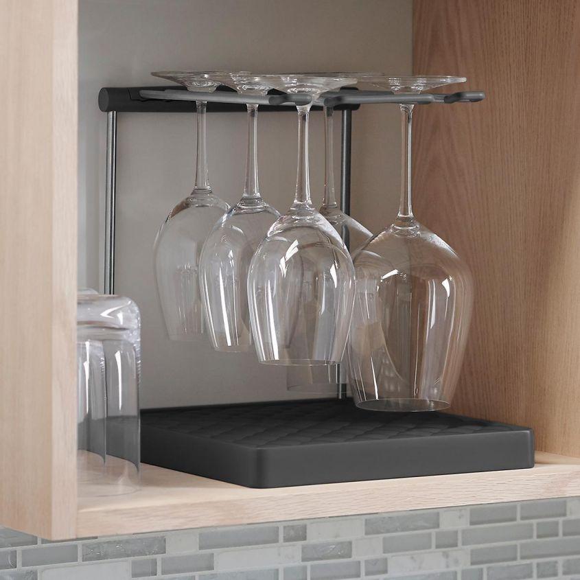 10071201 Kohler Wine Glass Drying Ra