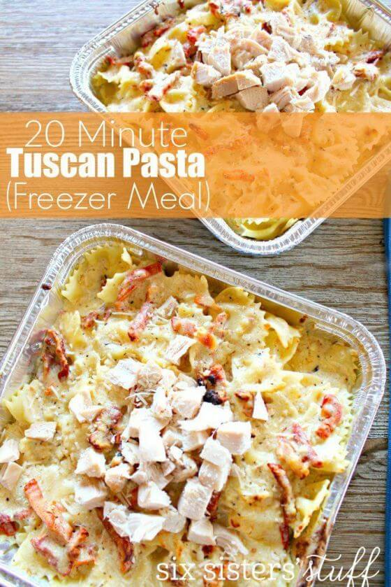 20 Minute Tuscan Pasta 683X1024