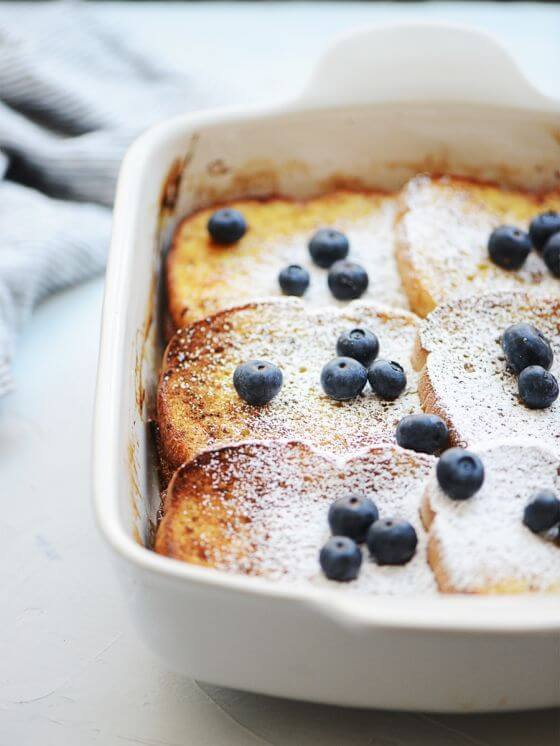 French Toast Casserole with Cream Cheese Filling