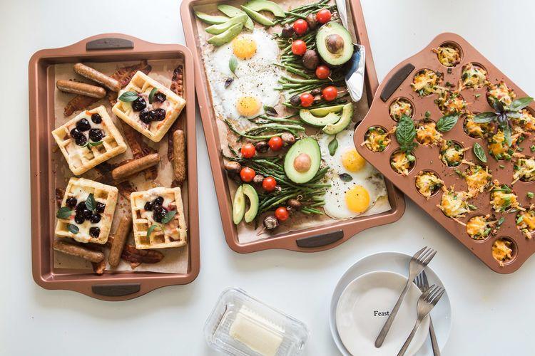 One Pan Breakfast Brunch Recipes Brooke Lark The Inspired Home
