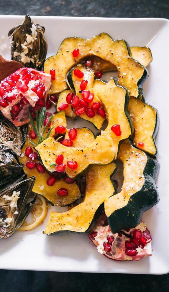 2017 10 Roasted Autumn Veggies 14 Acorn Squash Resize