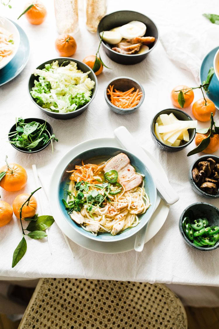 Build-Your-Own Ramen Party to Celebrate Chinese New Year