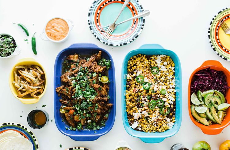 Multicooker Chipotle Honey Carnitas Bar