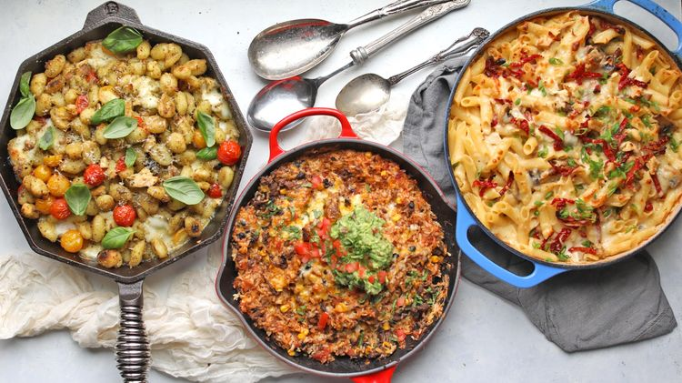 Three Easy One Pan Dinner Recipes for Busy Nights