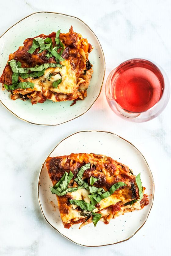 3 Cheese Summer Lasagna