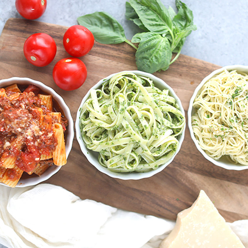 Three homemade pasta sauce recipes