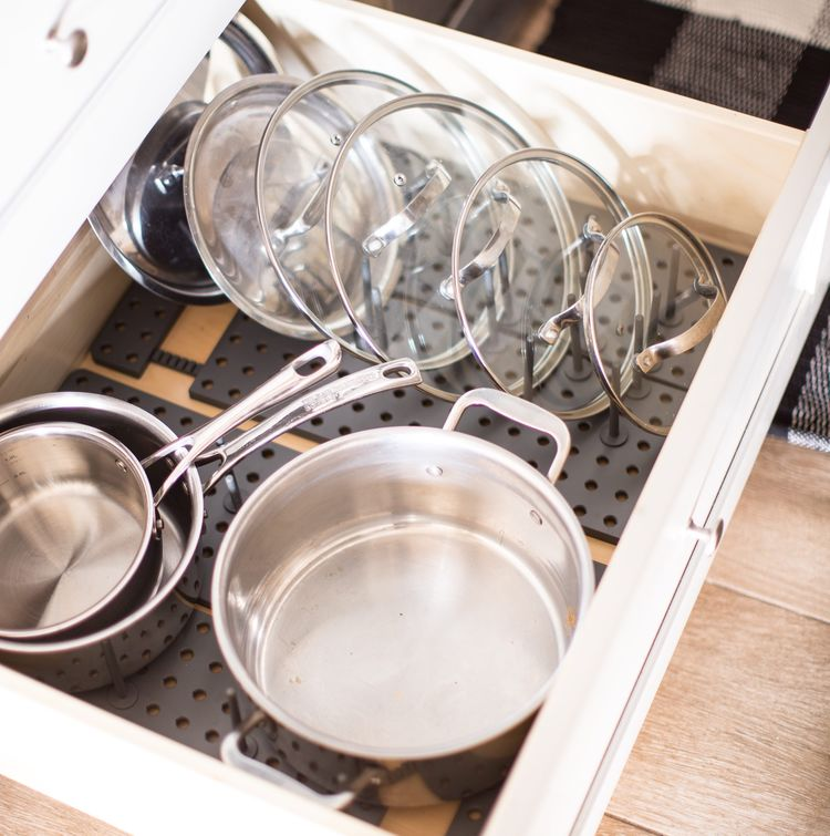 Organize Your Pots and Pans Like a Pro
