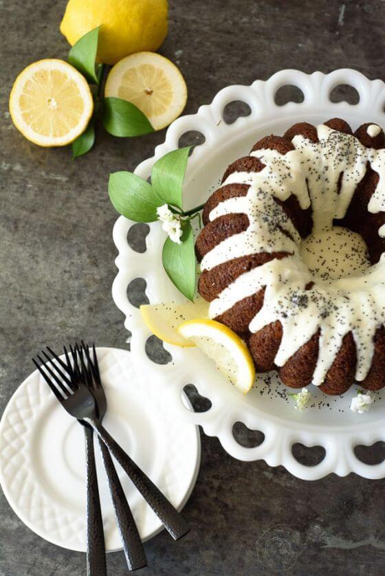 Banana Poppyseed Cake 17