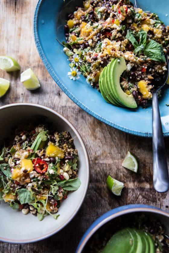 Black Bean And Mango Salad 9Resize