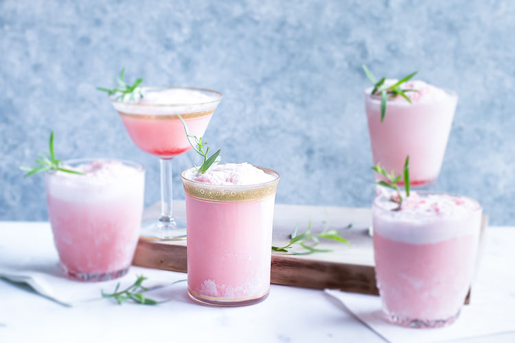 4 Ingredient Boozy Watermelon Floats