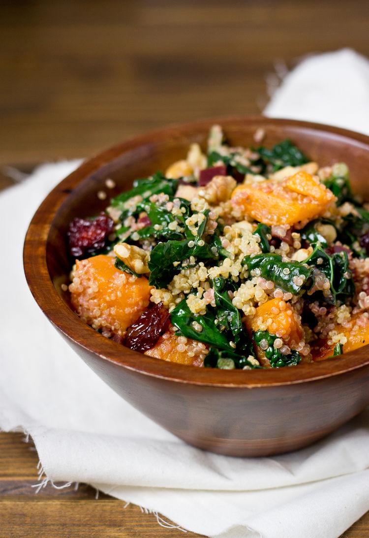 Butternut Beet Quinoa Salad 7052