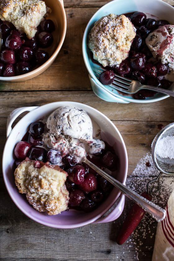 Cherry-Cobbler-with-Honey-Butter-Vanilla-Bean-Biscuits-10