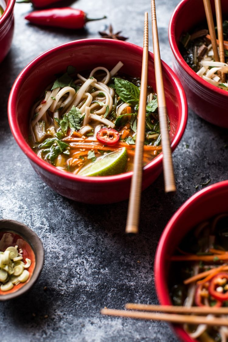 Chinese New Year Chicken Noodle Soup | The Inspired Home