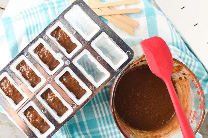 Chocolate Coconut Chia Pudding Pops 6