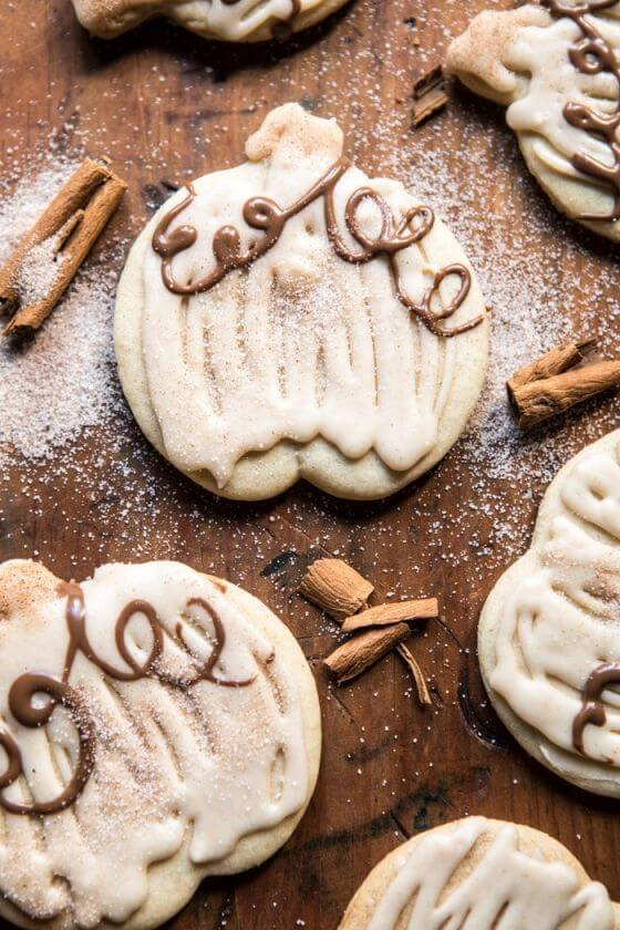 Cinnamon Spiced Sugar Cookies With Browned Butter Frosting 1