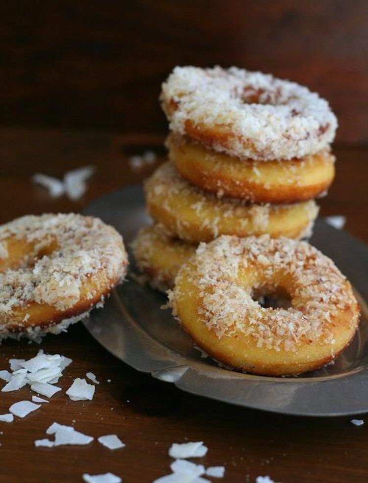 Coconut Flour Fried Donuts 2