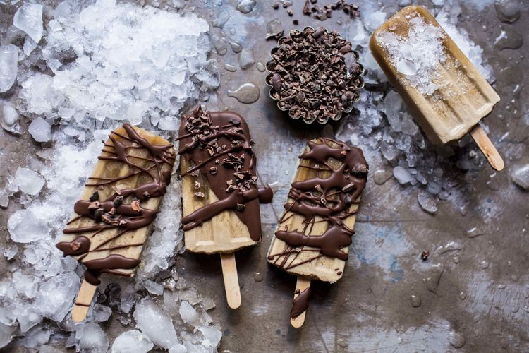 These Creamy Coffee Popsicles Are Like Iced Coffee But Better