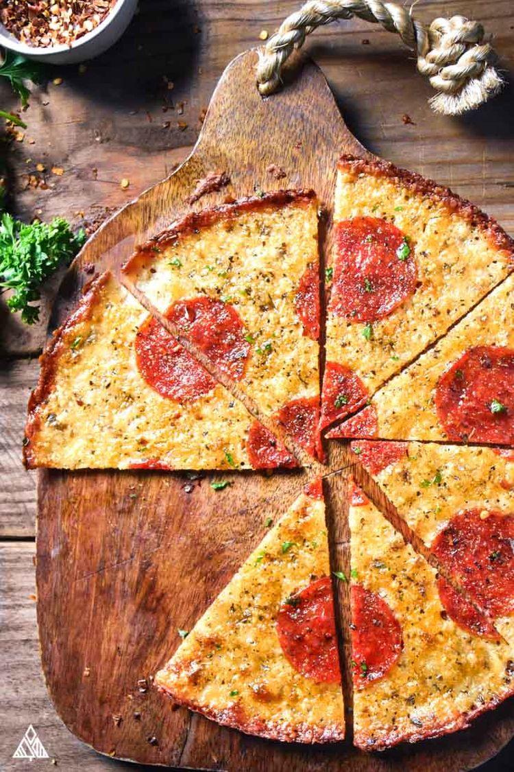 Crustless Pizza 7