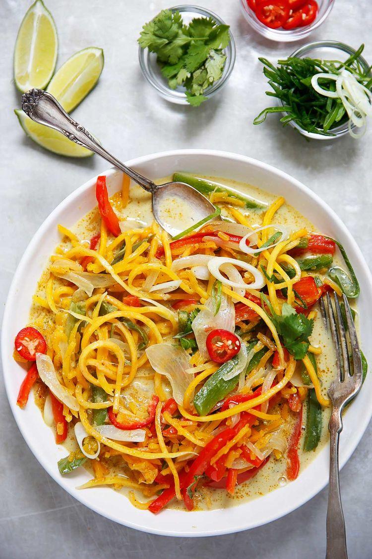 Curry Butternut Squash Noodles1 1