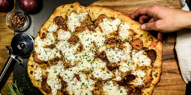 Perfecting Family Pizza Night: Crispy Potato, Bacon & Chive Pizza