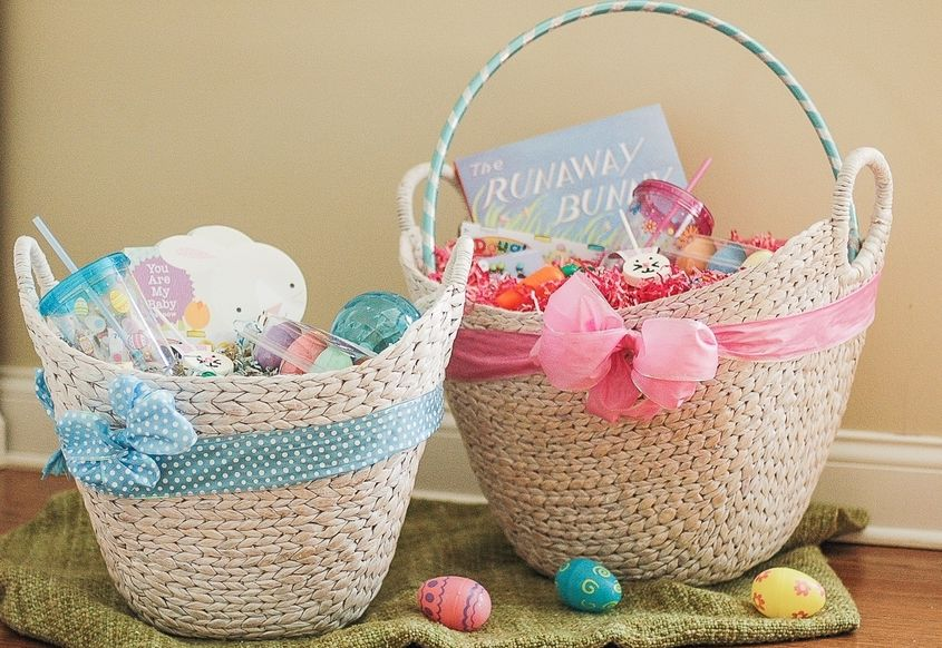 4 steps to building a fabulous easter basket the inspired home traditional easter baskets are likely to end up as clutter in a dusty corner of your closet or the landfill instead choose a basket negle Images