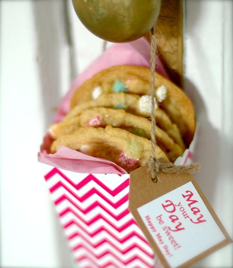 Vanilla Mint Drop Chip Cookies