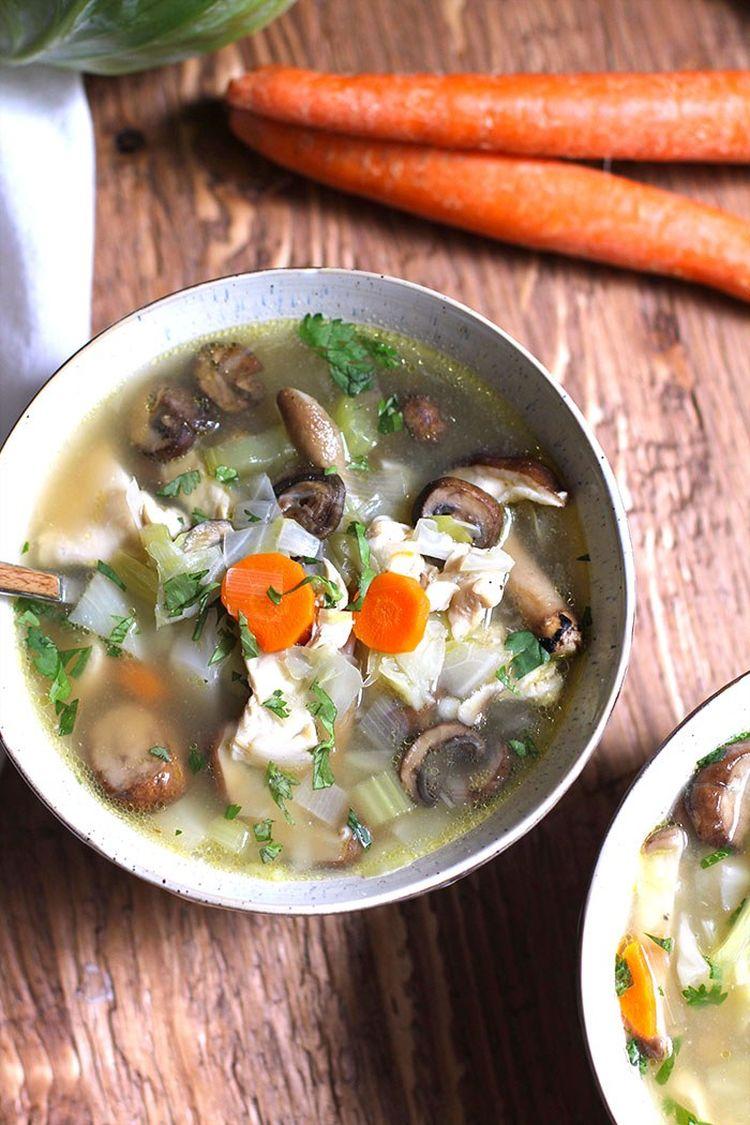 Detox Chicken Vegetable Soup 3